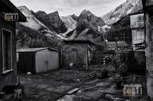 Bedizzano paese di Cavatori - Carrara - Cave di Marmo, Alpi Apuane