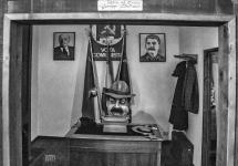 Brescello, Museo di Beppone e Don Camillo l?ufficio del Sindaco