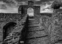 Pontremoli, Castello....una scala per .......
