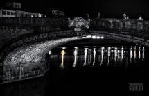 Firenze, L'Arno d'Argento sotto il Ponte Santa Trinita