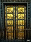 Firenze, Lorenzo Ghiberti, La Porta del Paradiso del Battistero di Firenze: e' la porta est, quella principale, situata davanti al Duomo (1425- 1452)