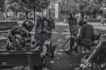 Montespertoli Pittori in Piazza Nova (Piazza del Popolo)