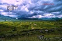 Castelluccio di Norcia, Vista sull'Altipiano