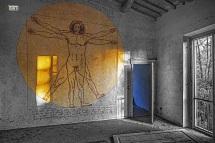 L'Uomo di Leonardo........Nello Spazio come in Terra.......