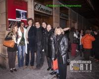 Giacomo Campiotti Regista con lo Staff a Firenze Cinema Gambrinus, ora chiuso