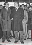Giovacchino Corti con Pietro Ingrao 1972 Inaugurazione Nuova Cas