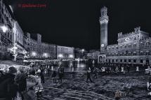 Siena Piazza del Campo riprese fotografiche