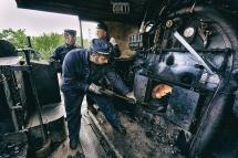 Siena, Treno a vapore  640 21 Alimentazione
