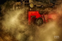 Siena, Storica Locomotiva 640 121 Lo Sbuffo