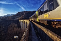 Garfagnana, Villetta - San Romano, Un Treno Per.......
